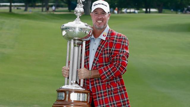 Golf - Weekley ends five-year drought with victory at Colonial