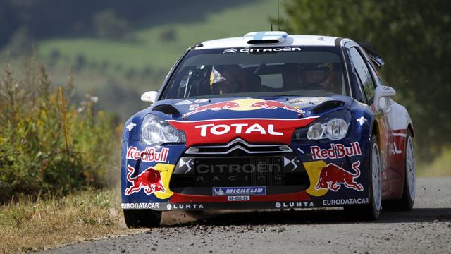 WRC - Hirvonen escapes big testing crash