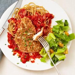 30-Minute Stovetop Chicken Parmesan
