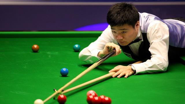 Snooker - Ding victory sets up Dott semi-final