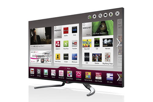LG's CES TV line-up boosted with two new Google TV sets. LG, Televisions, Home Cinema, LG GA7900, LG GA6400, Google TV, CES2013 0