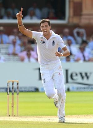 Steven Finn will miss the second Test with a thigh injury