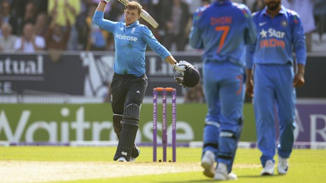 Cricket - Root spares England's blushes in consolation victory