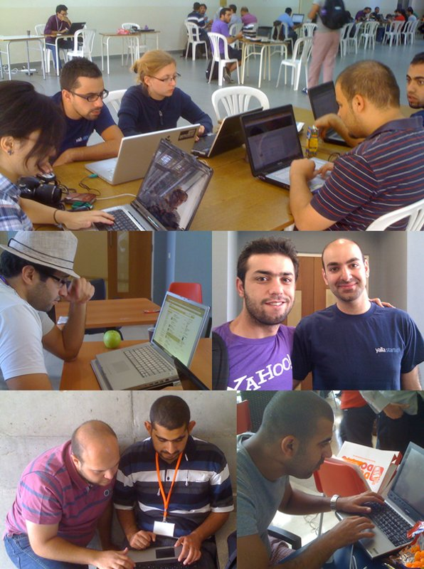 A selection of photos of participants at the YallaStartup Weekend 2010 in Lebanon