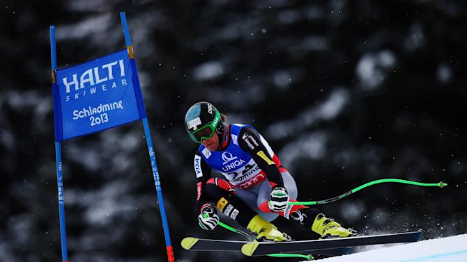 Men's Downhill Training - Alpine FIS Ski World Championships