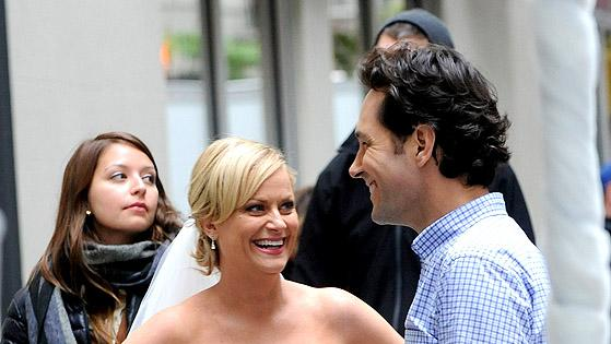 Amy Poehler, Paul Rudd