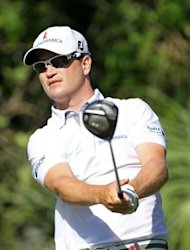 American Zach Johnson during the second round of The Players Championship held on May 11. Johnson fired a six-under par 66 to share the lead with Kevin Na and Matt Kuchar on eight-under par 136 after two rounds of the $9.5 million event