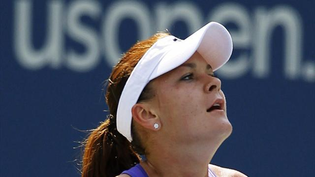 US Open - Radwanska, Serena march into US Open fourth round