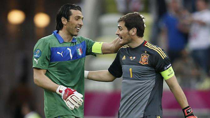 Serie A - Iker Casillas: 'Gianluigi Buffon a reference point for a generation'