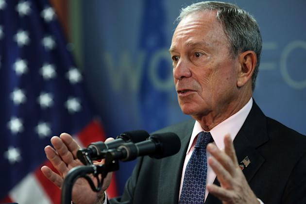 New York City Mayor Bloomberg Opens New Career Center For Veterans