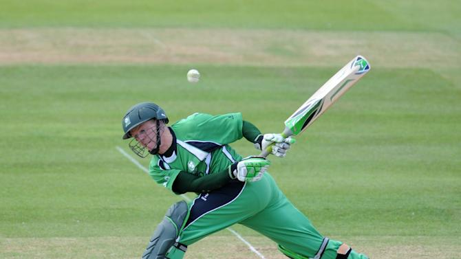 Niall O'Brien struck 62 in Ireland's victory