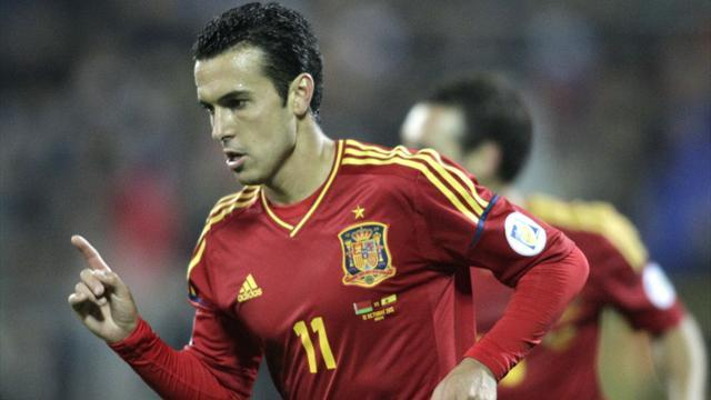 Liga - Barca's Spain hero Pedro out for 10 days