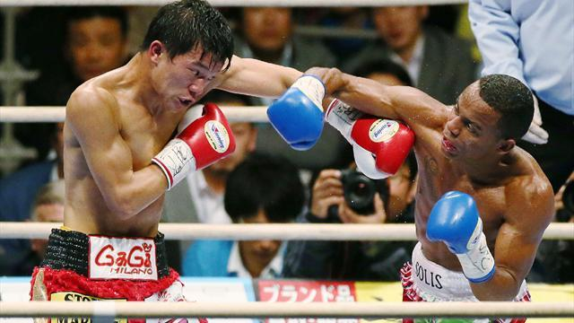 Boxing - Overweight Solis outpoints Kameda in Osaka