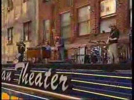 Atop the Ed Sullivan Theater marquee | Phish