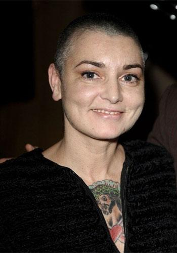 """Sinead O'Connor: The """"Nothing Compares 2 U"""" singer started off the New Year as a married woman, but she has unfortunately already called off the romance, twice. She and Barry Herridge separated just 1"""