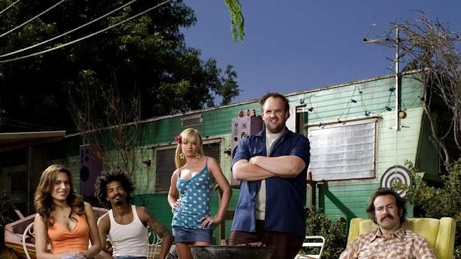 The cast of My Name is Earl on NBC.