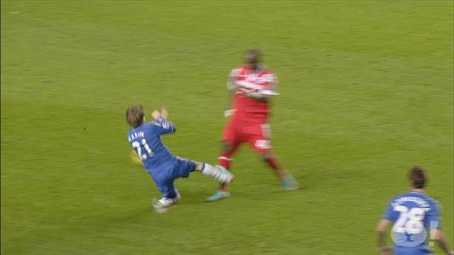 Premier League - Should Marin have seen red over horror tackle?
