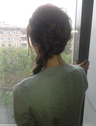 "As we stood squished in a smelly corner on the 94 bus somewhere around Shepherds Bush this morning, a quick peruse of Twitter revealed a much needed dose of glamour in the form of Victoria Beckham tweeting ""Baggy braid in Beijing! X vb"" accompanied by the picture below"