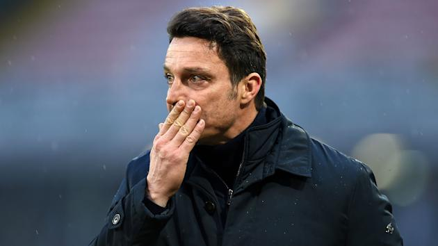 """Massimo Oddo has been sacked as Pescara head coach only a day after the club's board professed """"unanimous support"""" for him."""