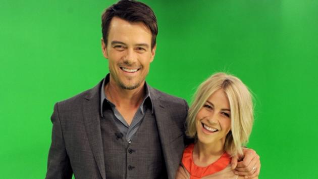 Josh Duhamel and Julianne Hough pose at A Night with Nicholas Sparks' Safe Haven: Filmmakers, Author and Stars Bring The Book To Life at Castle Studios on January 17, 2013 in Burbank, Calif. -- Getty Images