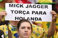Brazilians love Mick Jagger, but certainly not as a football results predictor. They're blaming Jagger's jinx for Italy's loss against Uruguay.