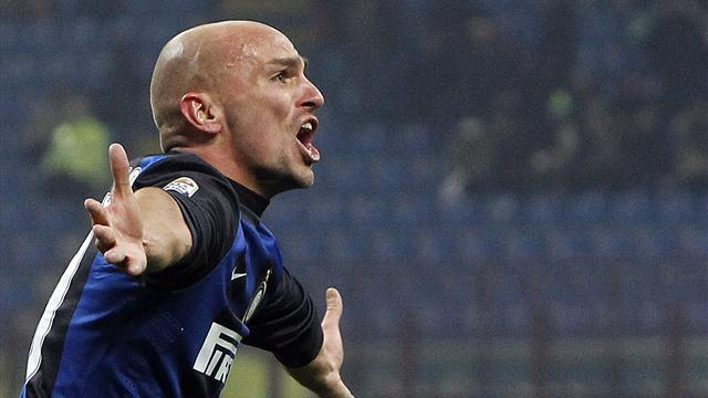 Serie A - Inter legend Cambiasso to leave club, Milito set to follow