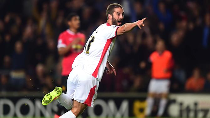 League Cup - MK Dons hammer abysmal Manchester United