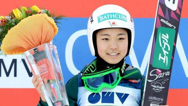 Ski Jumping - World Cup winner Takanashi lands Romanian double