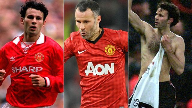Premier League - Giggs retires as a player after being named Van Gaal's assistant
