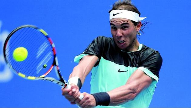 Poor form continues as Rafael Nadal struggles past 230th-ranked Wu Di in Beijing