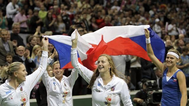 Fed Cup - Czechs win Cup as Safarova destroys Jankovic