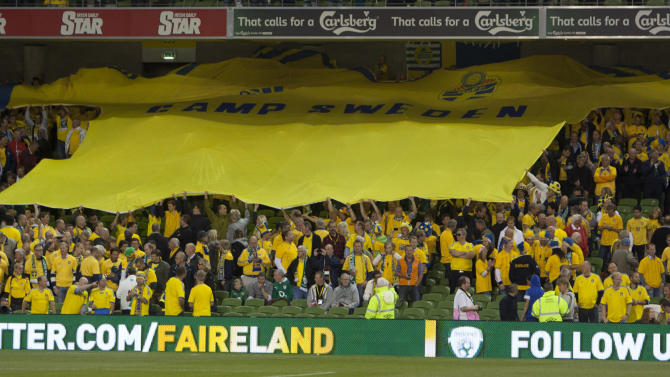Soccer - FIFA World Cup Qualifying - Group C - Republic of Ireland v Sweden - Aviva Stadium