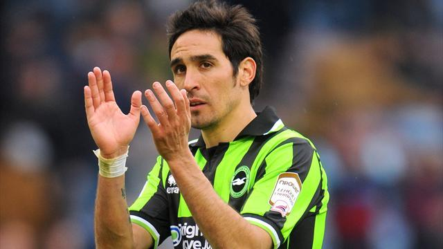 Championship - Vicente gives Brighton last-gasp win over Hull