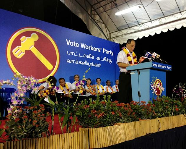 WP chief Low Thia Kiang says the PAP must be kept alert by the