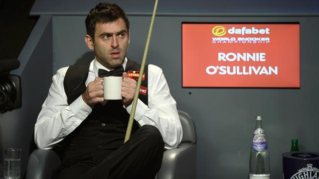 Snooker - Superb O'Sullivan hammers Hawkins to reach sixth world final
