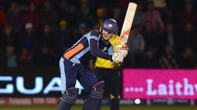 County - Yorkshire miss out on Miller