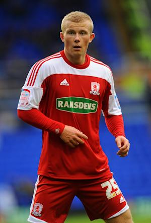 Curtis Main's current deal at Middlesbrough has been extended to keep him until 2015