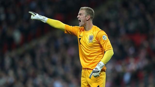 World Cup - Hart, Cole return for England