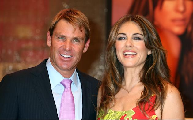 Elizabeth Hurley - Launches Her New Bed Linen Collection
