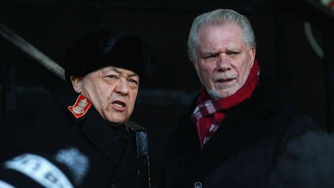 David Sullivan and David Gold - West Ham