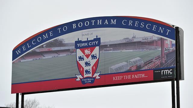 Football - Ible in at York