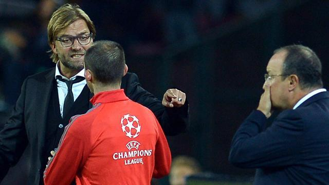 Bundesliga - Dortmund's Klopp blames own outburst for Napoli defeat