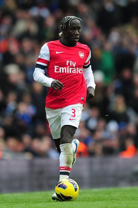 Bacary Sagna is set to make his first Champions League appearance of the season