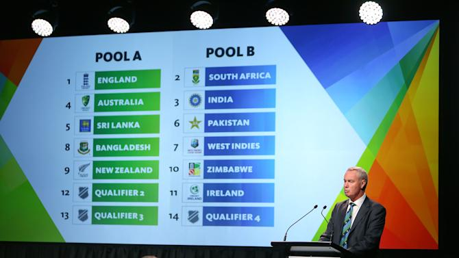 ICC Cricket World Cup 2015 Official Launch In Wellington