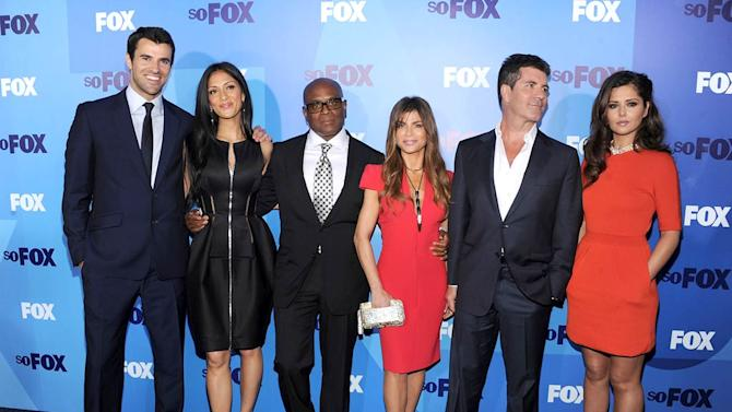 X Factor Cast FOX Upfronts