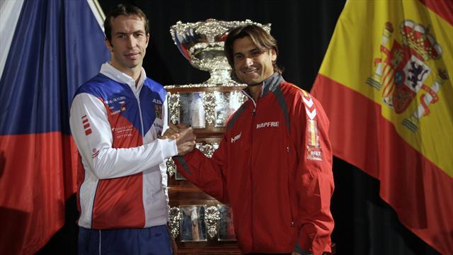Davis Cup - Ferrer to play Stepanek in Spain-Czech opener