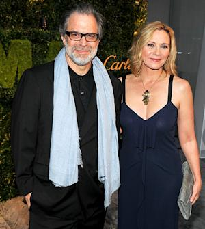 Kim Cattrall Dating Artist Clifford Ross?