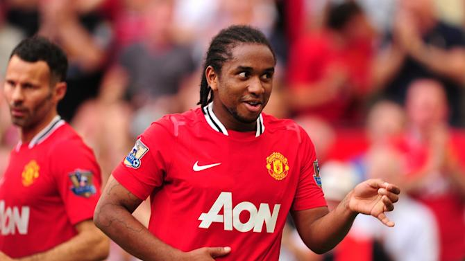 Anderson has suffered a serious knee injury during his time with Manchester United