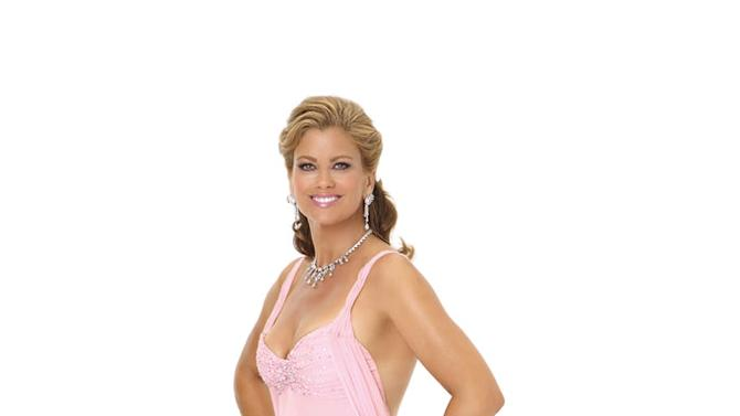 "Supermodel Kathy Ireland competes in season 9 of ""Dancing with the Stars."""