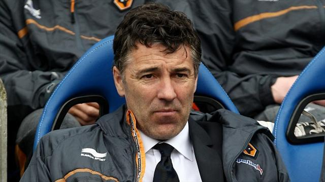 Football - Saunders sacked as Wolves boss after just 20 games